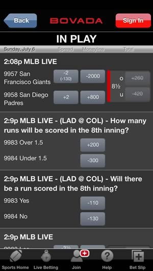Us based sports betting app